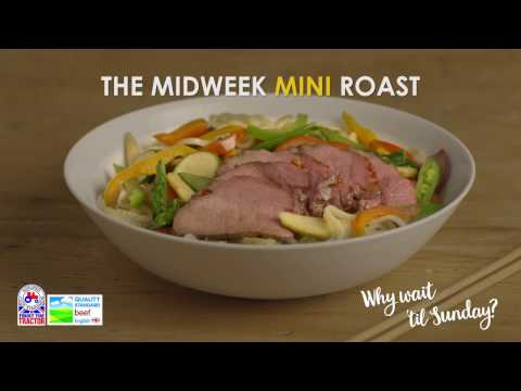 Mini Roast Beef with Teriyaki recipe