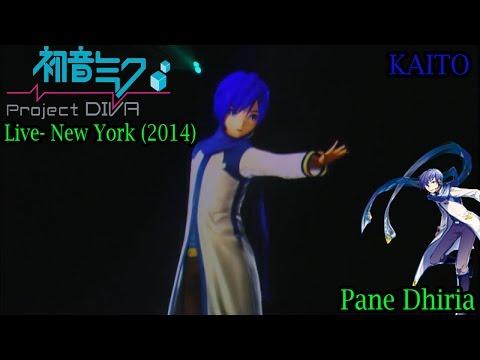 Hatsune Miku EXPO 2014 Concert- New York- KAITO- Pane Dhiria HD 60FPS