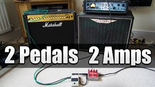 Royal Blood Effects with 2 Pedals 2 Amps Explained