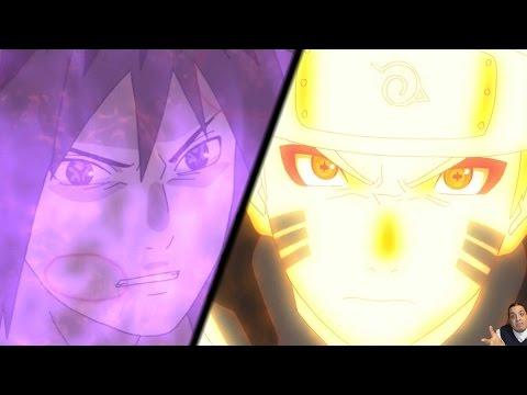 Naruto Shippuden Episode 382 -ナルト- 疾風伝 Anime Review -- Naruto & Sasuke Vs Sage of Six Paths Obito