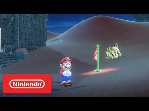 Super Mario Odyssey - Sand Kingdom & New Donk City Demonstration - Nintendo E3 2017 thumbnail
