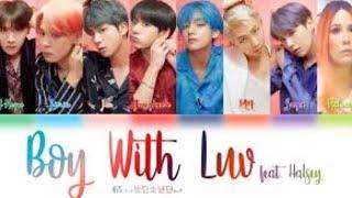 BTS (방탄소년단) ft. Halsey - Boy With Luv | LIVE