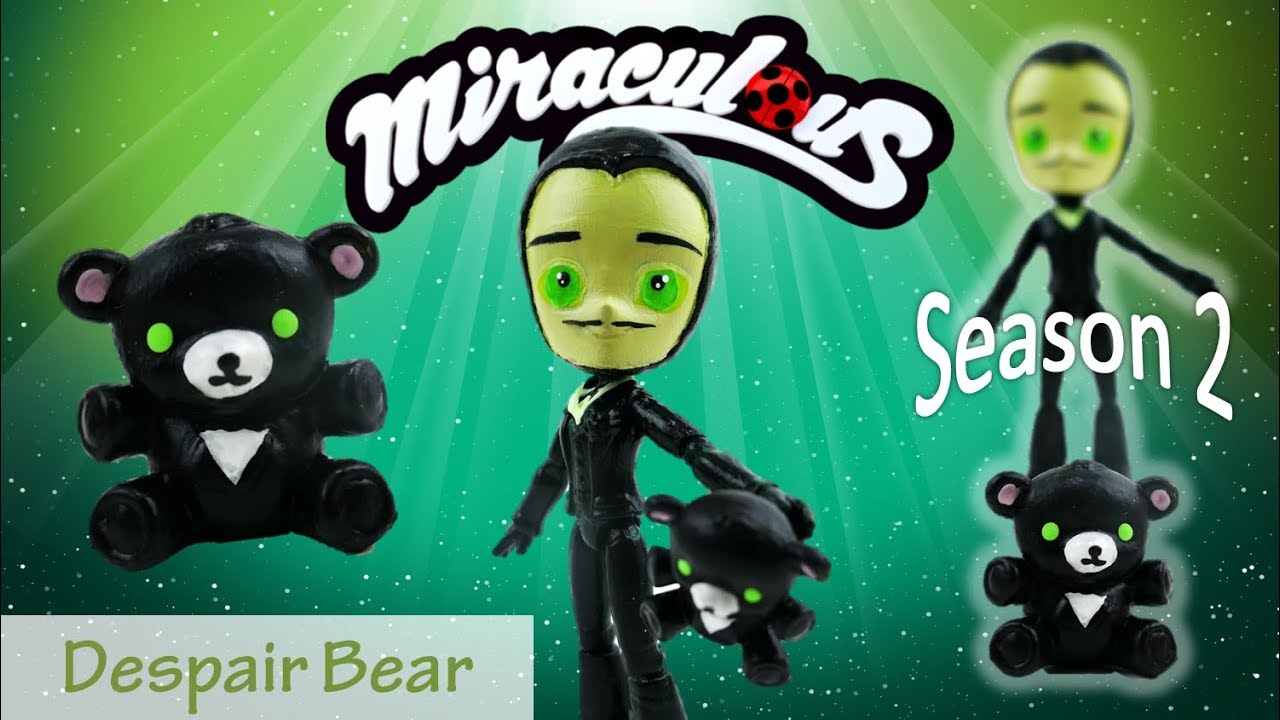 Miraculous Ladybug Season 2 Episode 2 Despair Bear Toy Doll Custom Tutorial