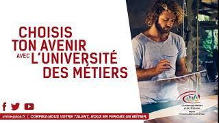 Campagne d'affichage Chambre de Métier et de L'artisanat Région PACA.  .