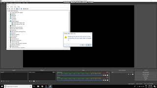 Obs Laptop Black Screen