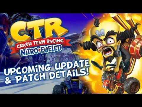 MOD] gamemasterplc: Crash Team Racing HD Widescreen Patch – Crashy News