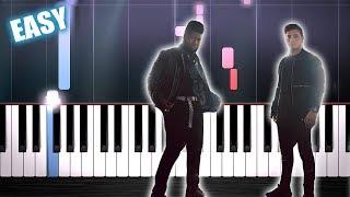 Martin Garrix Feat. Khalid   Ocean   EASY Piano Tutorial By PlutaX