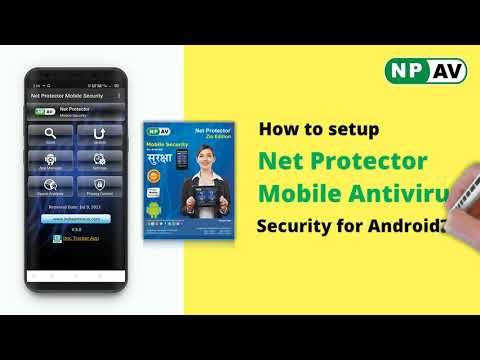 How to install Net Protector Mobile Antivirus for android devices | NPAV
