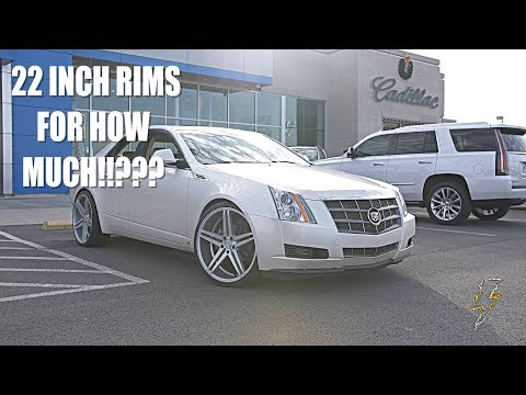 HOW I GOT BRAND NEW 22 INCH RIMS FOR $50 PLUS INTSALL- CTS