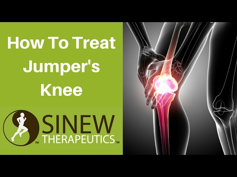 Video How To Treat Jumper's Knee and Speed Recovery