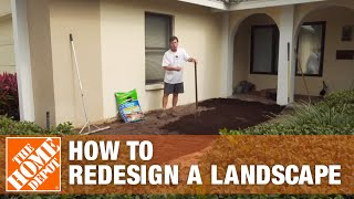 How To Redesign A Landscape | The Home Depot Gardenieres