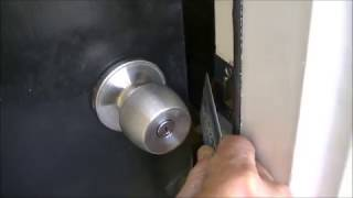 Open Door Lock with Credit Card