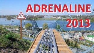 preview picture of video 'ADRENALINE [HD] Zjazd kolejką górską - POZNAŃ MALTA SKI'