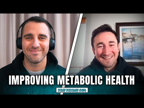 Improving Metabolic Health   Josh Clemente   Pomp Podcast #474