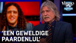 Johan ziet beelden van The Voice-ruzie: 'Ali B is een geweldige paardenlul' | VERONICA INSIDE