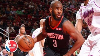 Chris Paul notches 25 points, 10 dimes for double-double | Timberwolves vs. Rockets | NBA Highlights