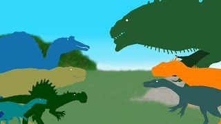 Dinosaurs Cartoons Compilation July 2016 - DinoMania