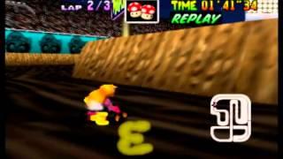 Mario Kart 64 - WS 3lap in 3'44''90