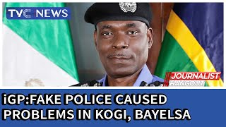 IGP says fake policemen disrupted Bayelsa, Kogi governorship elections