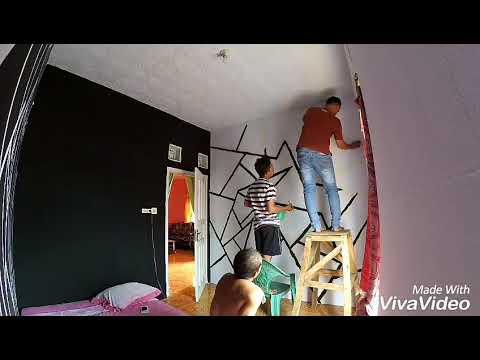 mp4 Design Kamar Cat Hitam, download Design Kamar Cat Hitam video klip Design Kamar Cat Hitam