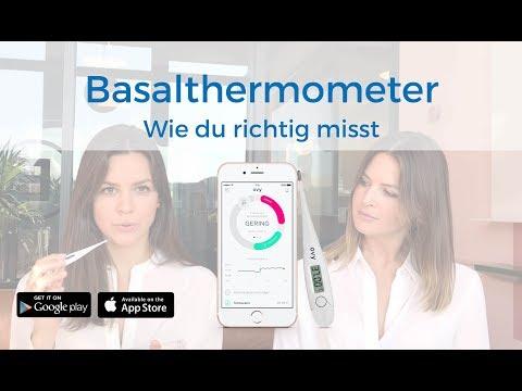 Basalthermometer: Anleitung zum Messen der Basaltemperatur