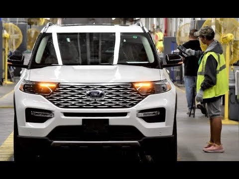 Ford Chicago Plant - 2020 Explorer Production Factory