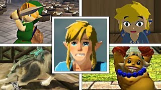 Evolution Of Link's Idle Animations In The Legend Of Zelda Series (1998 2018)