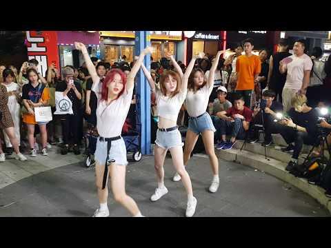 20190805 홍대 미녀댄스팀 클락(clock) 02 - BLACKPINK LISA SOLO 'SWALLA'