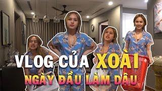 Vlog đầu tiên của Xoài Non | Ngày đầu làm dâu ở nhà Xemesis có thật sự là sướng?