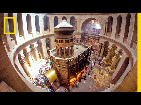Experience the Tomb of Christ Like Never Before | National Geographic