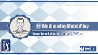 #WednesdayMatchPlay with Teryn Schaefer from PGA Tour