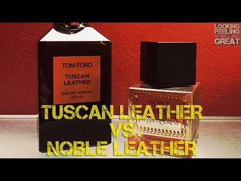 Tom Ford Tuscan Leather vs YSL Noble Leather With LANIER | FRAGRANCE REVIEW