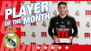 Valverde, Five Star Player of the Month for November!
