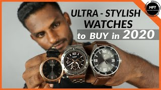 3 STYLISH WATCHES MEN Should BUY In 2020 | Mens Fashion Tamil