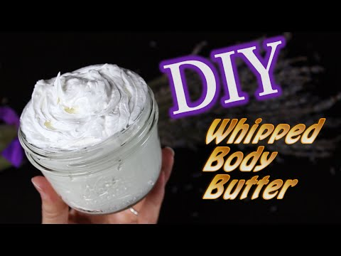 DIY Body Butter with Coconut Oil
