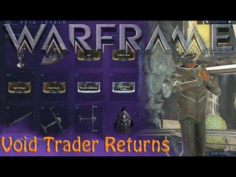 Warframe - Void Traders Returned! 120th Rotation
