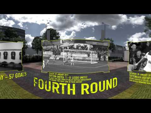 FA Cup Final: The Road To Wembley In 360 - BBC Sport