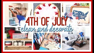 4TH OF JULY DECORATE WITH ME 2020 | PATRIOTIC DECOR IDEAS