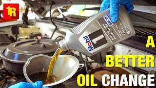 How To Change Your Oil BETTER THAN THE DEALERSHIP!!