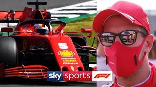 """You've messed up!"" | Sebastian Vettel explains his radio message to the Ferrari pit wall"