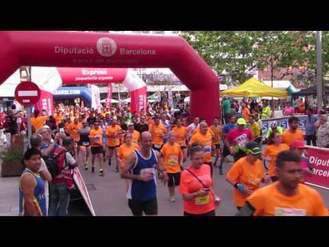 Salida 10km 2ª Carrera Correos Express Sansi Sant Adrià 06/04/17