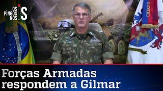 A resposta do Exército ao ministro Gilmar Mendes