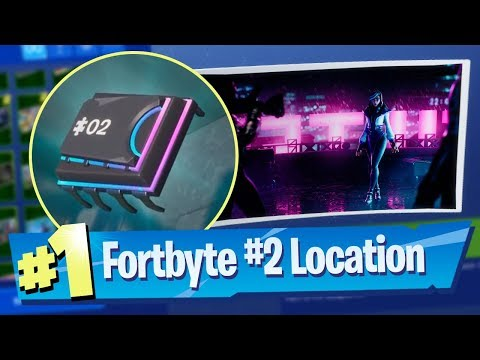 Fortnite Fortbyte #2 Location - Found at a location hidden within Loading Screen #6