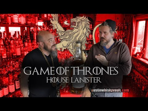 Whiskey Review: Lagavulin Game of Thrones House Lannister with Lagavulin 8 Comparison