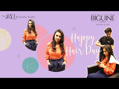 Celebrating Happy Hair Day | V-Log Teaser | Jean Claude Biguine
