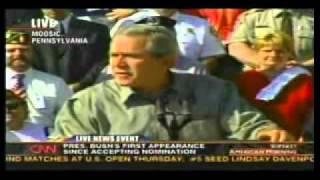President Bush mentioning Mark Chesnutt