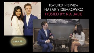 Nazariy Demkowicz Talks About Working with the Amiable Keanu Reeves