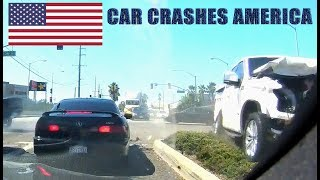 CAR CRASHES IN AMERICA 2017 - BAD DRIVERS USA | NORTH AMERICAN DRIVING FAILS