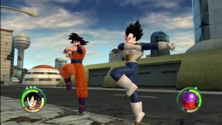 Dragonball Z Raging Blast 2 - Goku & Vegeta VS Movie Villains