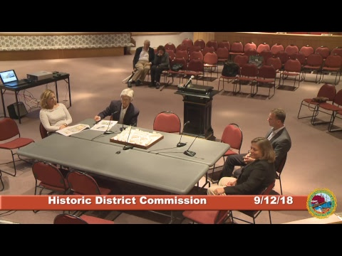 Historic District Commission 9.12.18